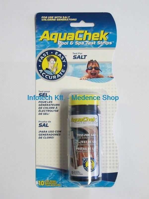 Sótartalom méréshez teszter 10db tesztcsík Aquacheck AS-146005 LEJÁRT SZAV. IDŐ!
