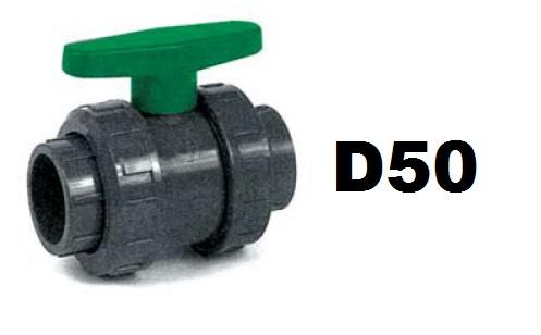 Golyóscsap D50 CH zöld CCG-50HCH