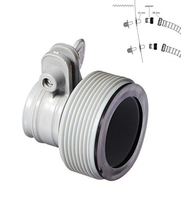 Intex hollanderes átalakító 32mm-es medence csatlakozáshoz 10722