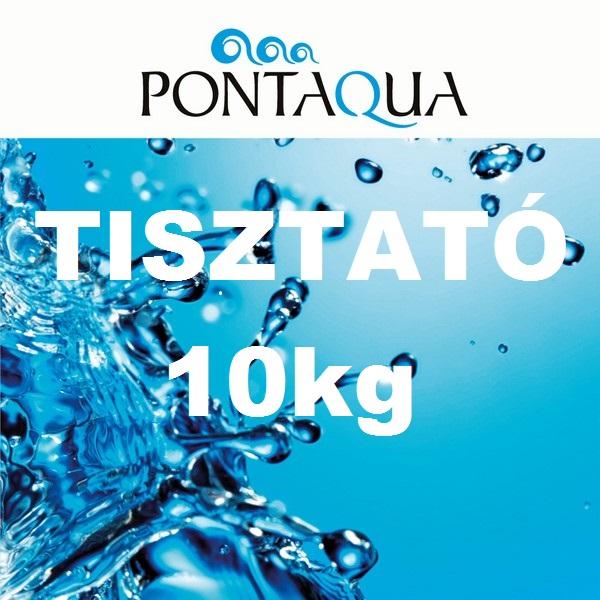 TISZTATÓ 10kg tavak vízkezelő szere TT0 100