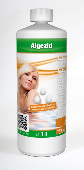 Aquacorrect Algecid habzásmentes algamentesítő koncentrátum 1l  AS-150001