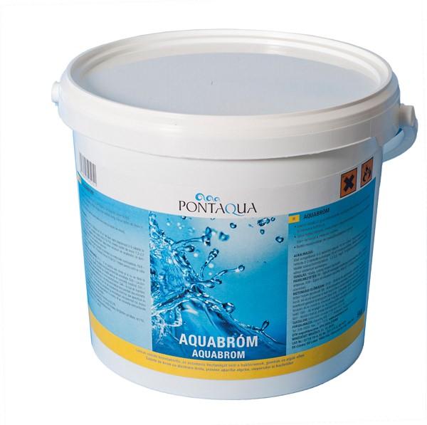 Pontaqua Aquabróm melegvízes medencékhez fertőtlenítőszer 5kg BRO 050