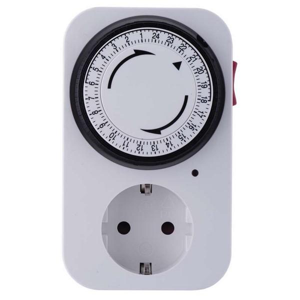 Időzítő kapcsoló (24 órás) mechanikus beállítással EMOS P5522