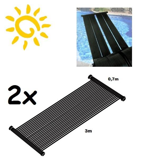 FPA 372 szolárszőnyeg medencefűtés 3m x 0,7m (2db/készlet) 4.2m2