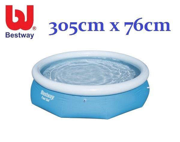 Bestway 305x76cm medence, vízforgató nélkül BW 57266