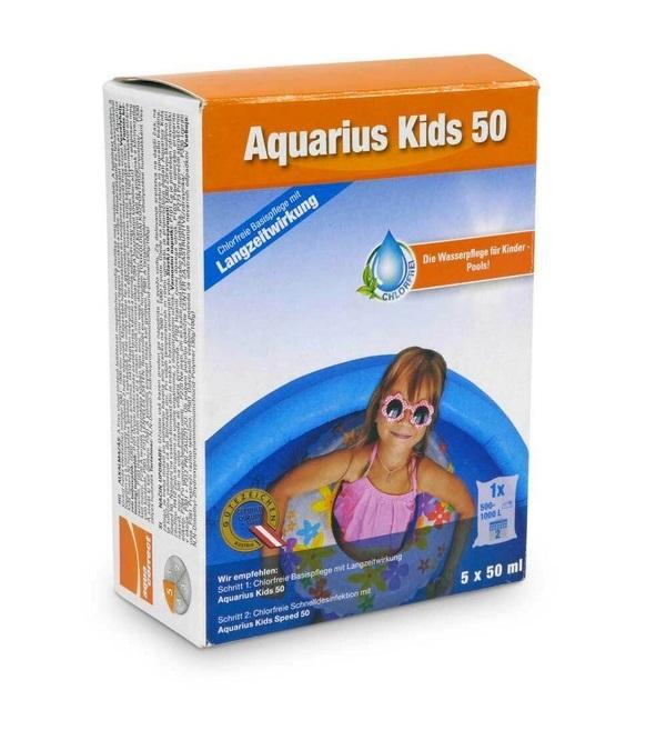 Aquacorrect Aquarius Kids 50 klórmentes vegyszer gyerek medencékhez 5x 50ml Steinbach