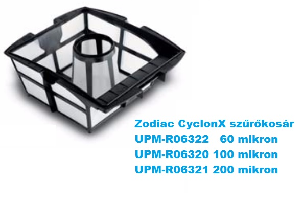 Zodiac CyclonX robot porszívóhoz szűrőkosár