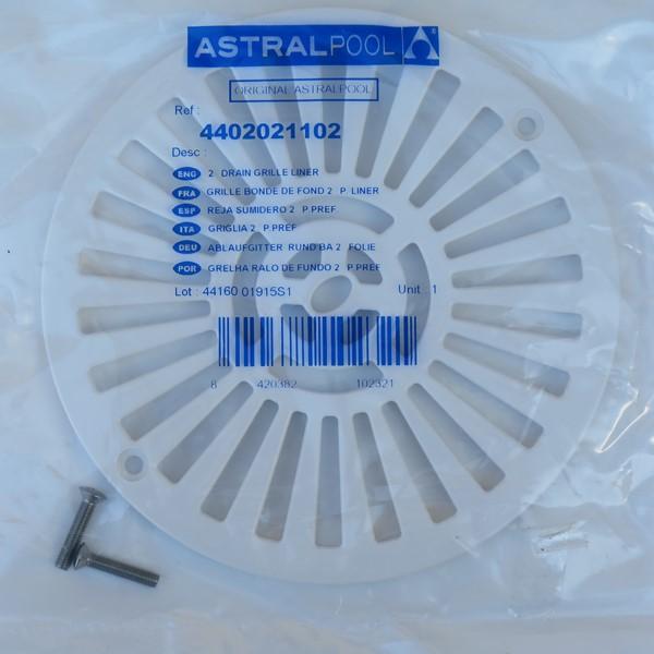 AstralPool A00271 padlóösszefolyóhoz rács 4402021102