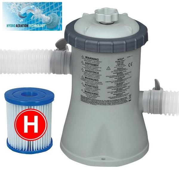 Intex medence vízforgató szivattyú 1250l/h 28602