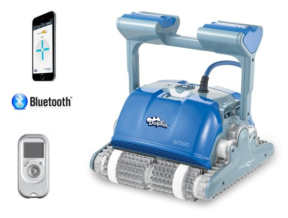 Dolphin Supreme M500 Smart robot medence porszívó távirányítóval Maytronics AS148105