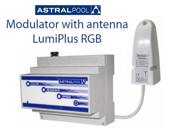 AstralPool LumiPlus RGB modulátor + RF antenna AP-27818