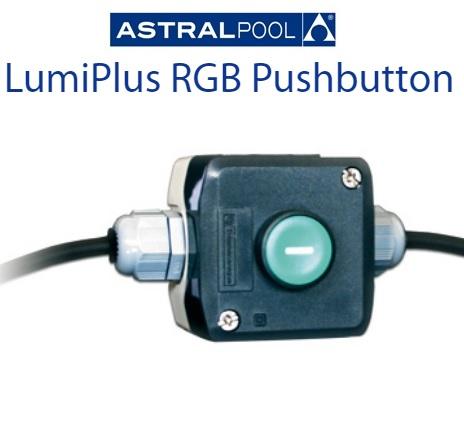 AstralPool LumiPlus RGB lámpákhoz nyomókapcsoló AP-32458