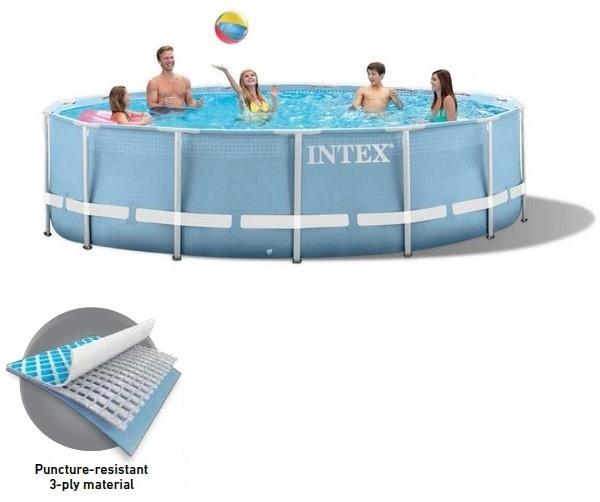 Intex 305x76cm csővázas medencetest 26700-28700