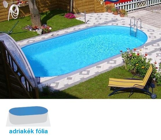 Hobby Pool Styria 4,9x3x1,2m fémpalástos medence szett 6,6m3/h homokszűrős vízforgatóval SB-012245