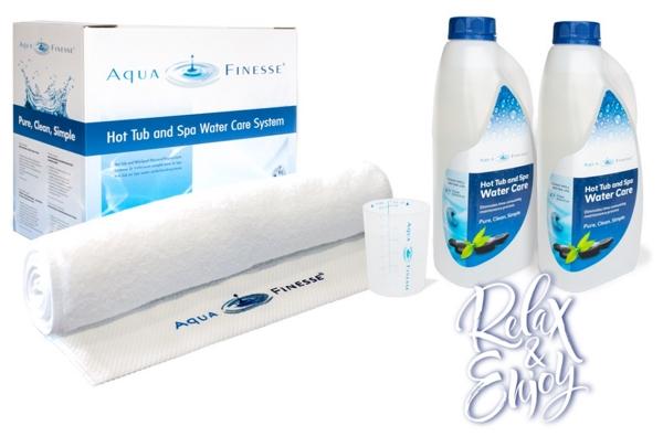 AquaFinesse SPA bio vízkezelő csomag + 1db ajándék SpaDeluxe aroma
