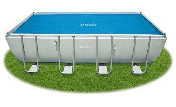 Intex 400 x 200cm medencére szolár takaró 29028