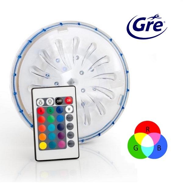 Gre színes medence világítás (RGB led távirányítóval) PLED1C