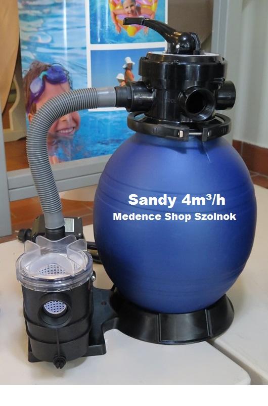 Sandy MINI homokszűrős vízforgató 4m3/h VHO 041