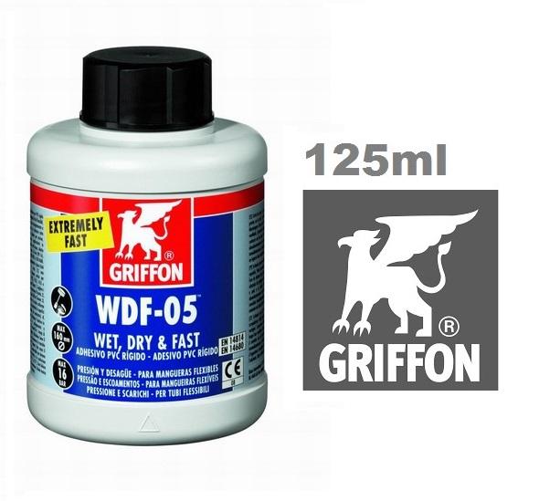 Griffon WDF-05 PVC ragasztó flexi csövekhez 125ml