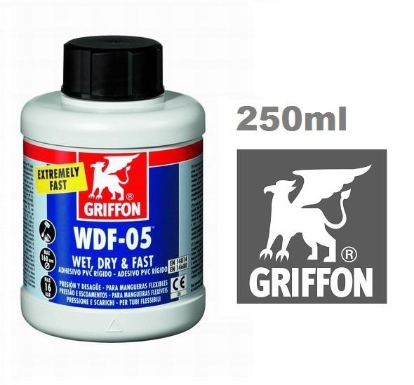 Griffon WDF-05 PVC ragasztó flexi csövekhez 250ml