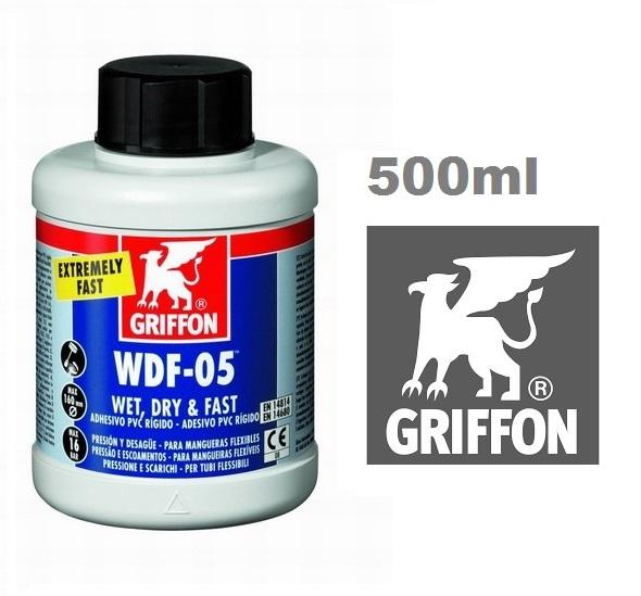 Griffon WDF-05 PVC ragasztó flexi csövekhez 500ml