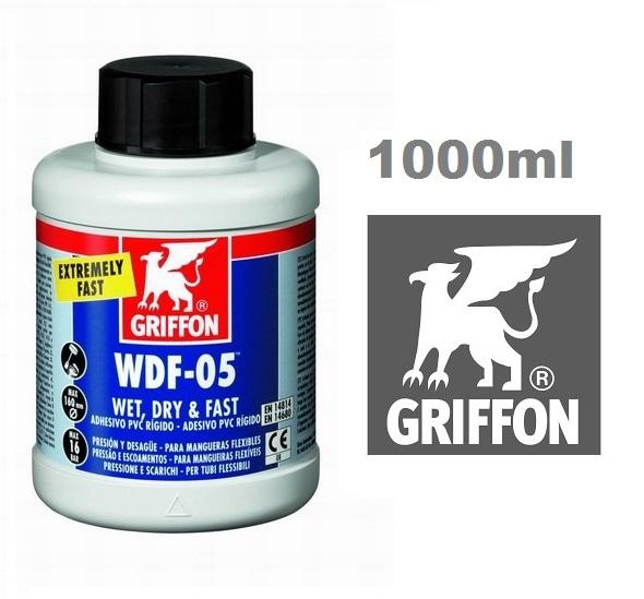 Griffon WDF-05 PVC ragasztó flexi csövekhez 1000ml