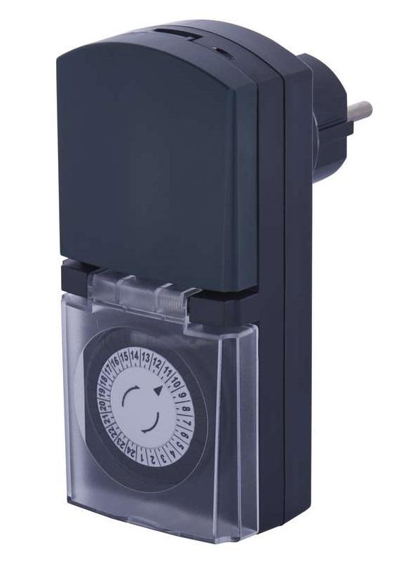 Kültéri időzítő kapcsoló (24 órás) mechanikus beállítással EMOS P5526