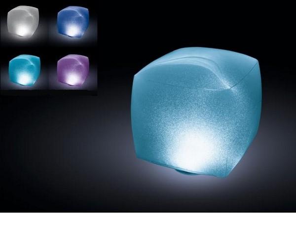 Intex vízen úszó kocka világítás 28694