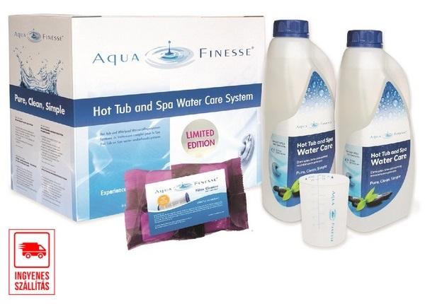 Aquafinesse Special Edition csomag 4db szűrőtisztisztó tablettával