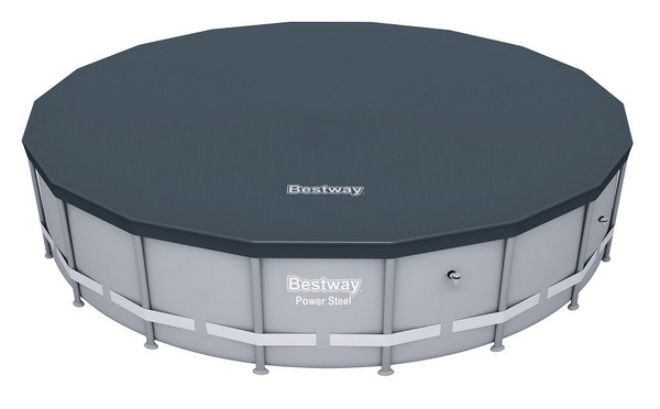 Bestway 488cm csővázas medencére takaró fólia BW 58249 (új típus, PVC fólia)