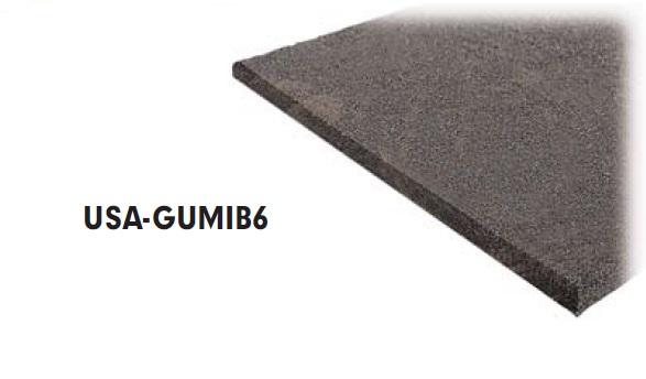 Gumi alaplap homokszűrős szett alá 500x500x20mm USA-GUMIB6