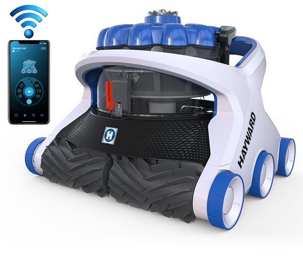 Hayward Aquavac 650 robot medence porszívó Wifi vezérléssel HAY 650