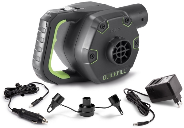 Intex Quick-Fill elektromos pumpa (AC230V+autós DC12V+akkumulátor) 66642
