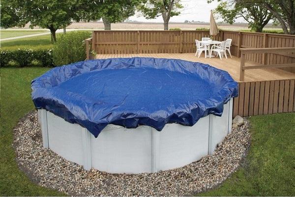 Kör alakú medence takaró fólia 360cm átmérőre KÉK