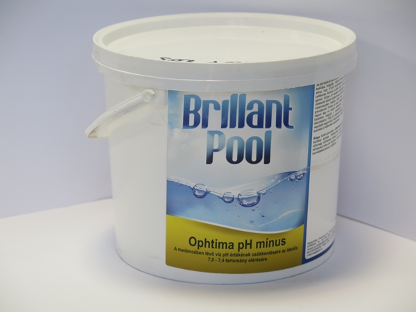 Brillant Pool OpHtima Minusz pH- 3kg UVP-203N