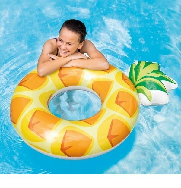 Intex ananász úszógumi 117x86cm 56266