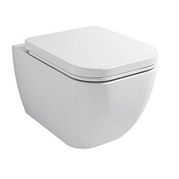 Wellis Ditte Rimless porcelán fali WC