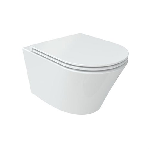 Wellis Clement álló rimless porcelán WC