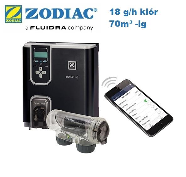 Zodiac eXO iQ 18 sósvízes fertőtlenítő és vezérlő készülék WW000163