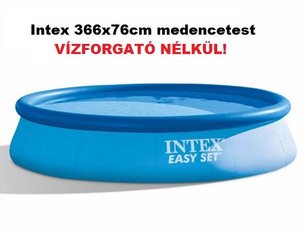 Intex 366x76cm puhafalú medencetest 28130