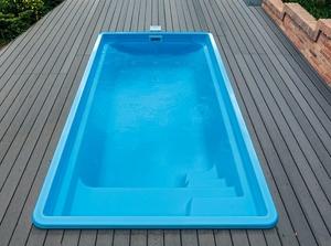 Üvegszálas kerámia medencék